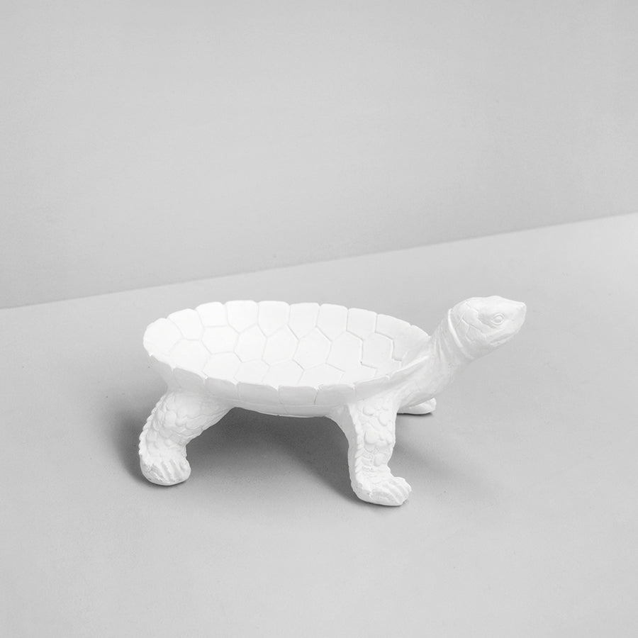 Turtle Bowl - White