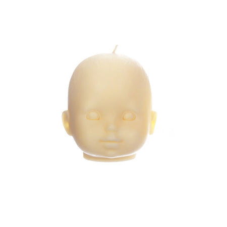 Doll Head - Large - Creme Caramel