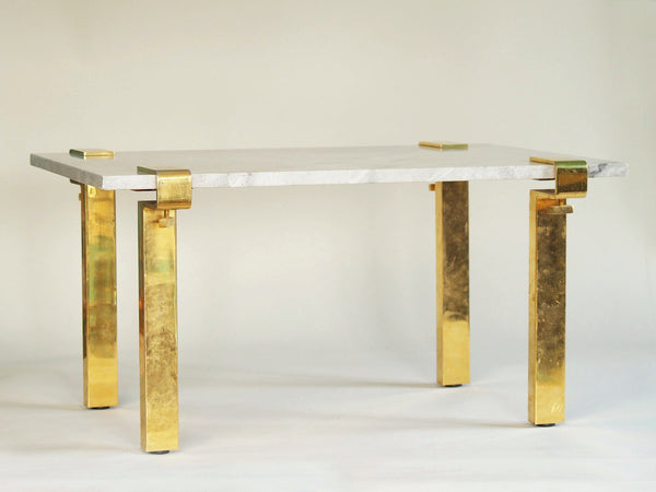 Table basse serre‑joints T9 de François Arnal & Atelier A, France (1971)..T9 coffee table stand by François Arnal & Atelier A, France (1971)