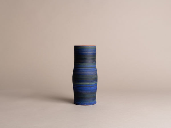 Vase de Georges Cueille, France (vers 1958)..Vallauris vase by Georges Cueille, France (circa 1958)