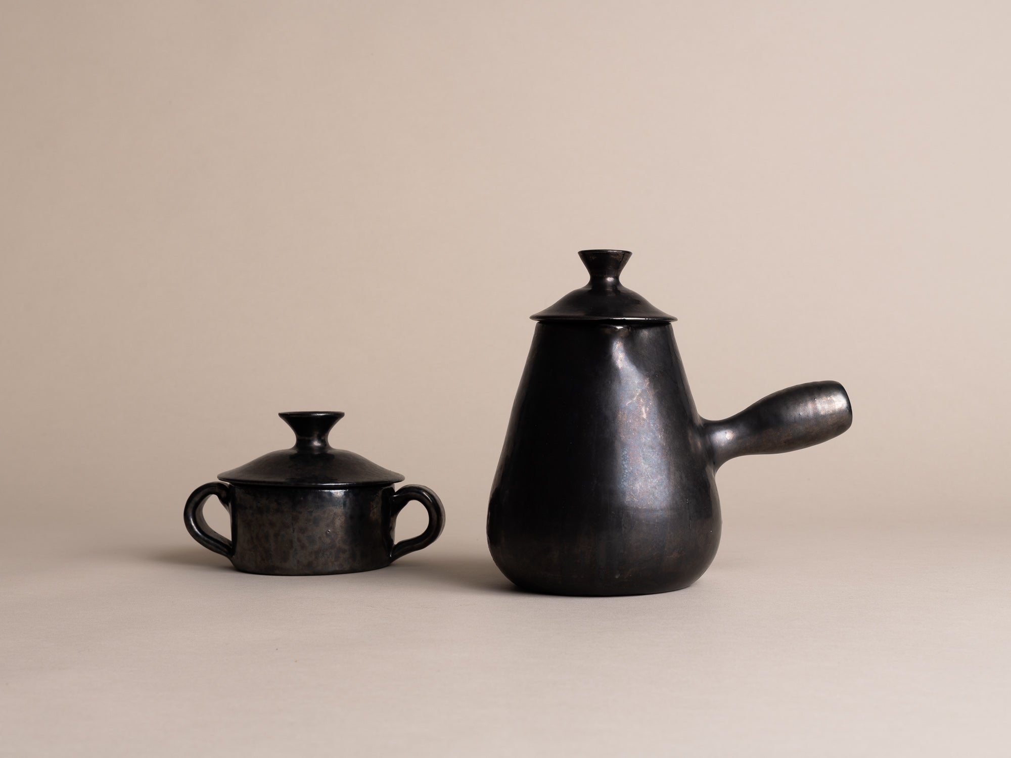 Rare Service à thé & café de Robert Picault, France (vers 1948)..Rare Tea & Coffee Set by Robert Picault, France (circa 1948)