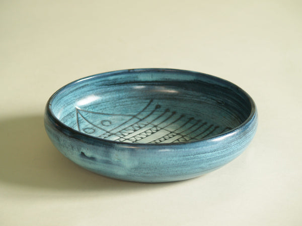 Coupe de Jacques Pouchain, France (vers 1959)..Bowl by Jacques Pouchain, France (ca. 1959)