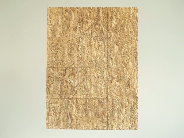 Tableau mural naturaliste en liège, France (vers 1960)..Oak cork wood Wall panel, France (circa 1960)