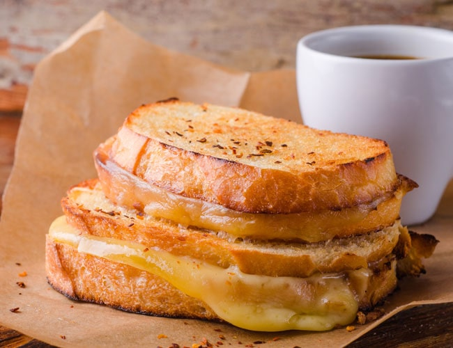 Ultimate Toasted Cheese and Chutney Sandwich