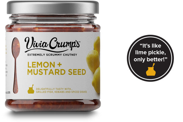Meet Vivia Crumps Lemon and Mustard Seed Chutney