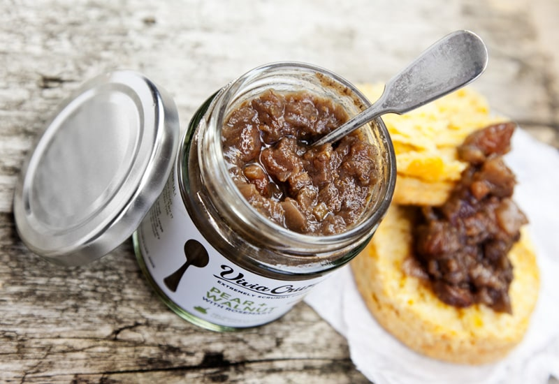 Pear and Walnut Chutney from our Artisan Chutney range