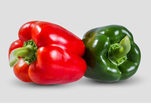 Vivia Crumps Red and Green Peppers