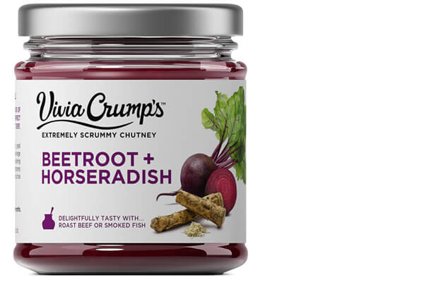 Meet Vivia Crumps Beetroot and Horseradish Chutney