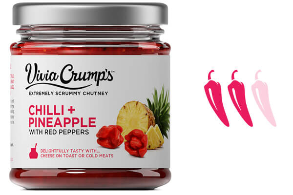 Meet Vivia Crumps Red Chilli and Pineapple Chutney