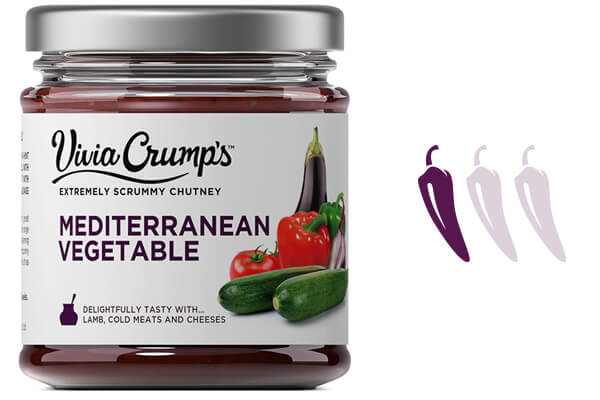 Meet Vivia Crumps Mediterranean Vegetable Chutney