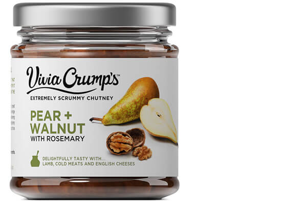 Meet Vivia Crumps Pear Chutney