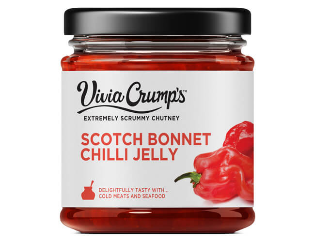 Vivia Crumps Scotch Bonnet Chilli Jelly