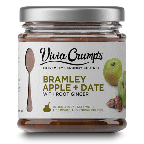 Vivia Crumps Bramley Apple and Date Chutney