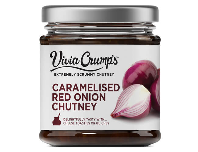 Vivia Crumps Caramelised Red Onion Chutney