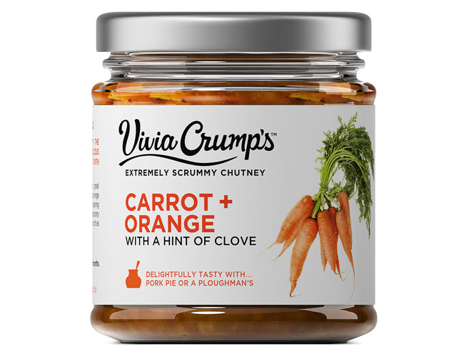 CARROT + ORANGE<br>WITH A HINT OF CLOVE