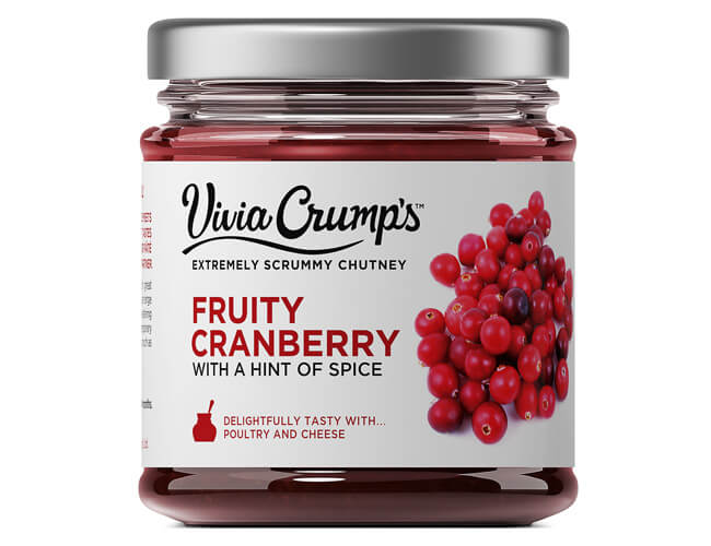 FRUITY CRANBERRY CHUTNEY<br>WITH A HINT OF SPICE