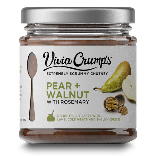 Vivia Crumps Pear and Walnut Chutney