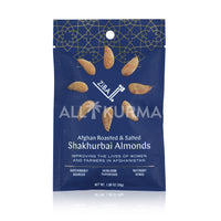 Ziba Foods Afghan Roasted and Salted Shakhurbai Almonds 30 Gram - All Kurma Singapore