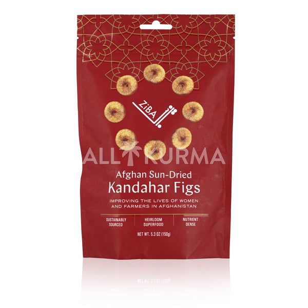 Ziba Foods Sun-dried Kandahar Figs 150 Gram - All Kurma Singapore
