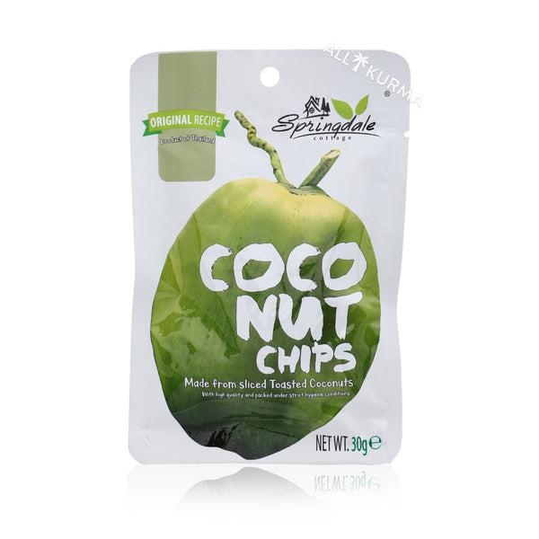 Springdale Cottage Coconut Chips - All Kurma Singapore