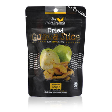 Springdale Cottage Dried Guava Slices 100 Gram
