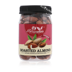 Springdale Cottage Roasted Almonds 180 Gram - NOW 50% OFF