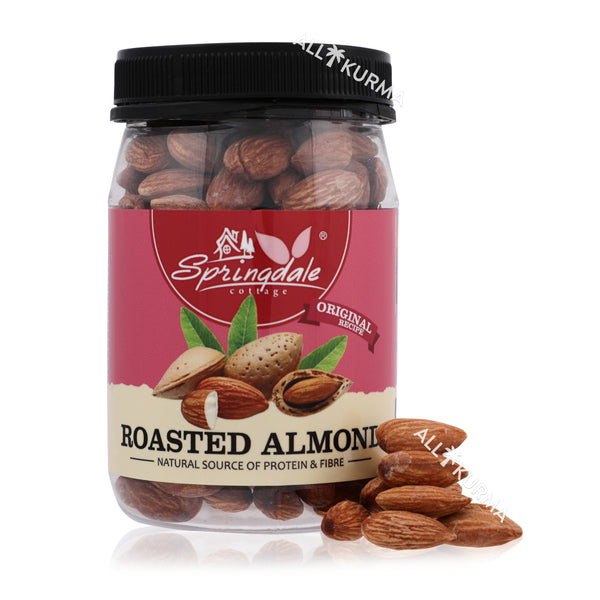 Springdale Cottage Roasted Almonds 180 Gram - All Kurma Singapore