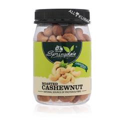 Springdale Cottage Roasted Cashew Nuts 170 Gram