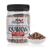 Springdale Cottage TriColour Organic Quinoa 220 Gram - All Kurma Singapore