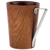 TRIANGO - Designer Real Wood Cup for Coffee, Americano, Hot Chocolate or Tea