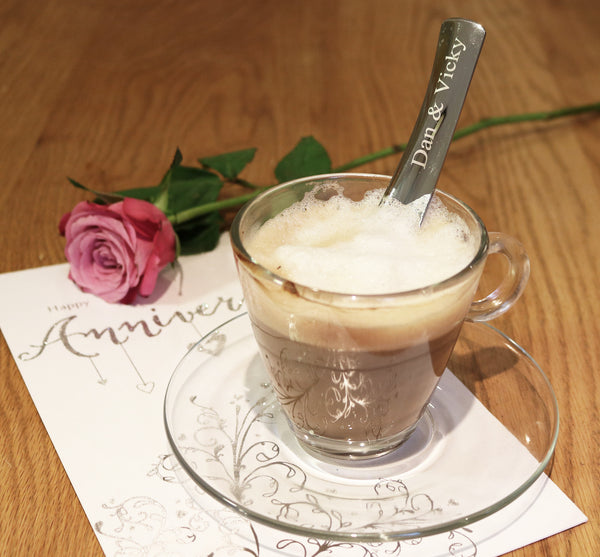 Personalised IMPULSO 188 - Coffee Scoop for long coffees  - available as a set of 2, 4 or 6 - Toccami - 1