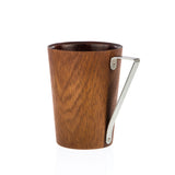 TRIANGO - Designer Real Wood Cup for Coffee, Cappuccino, Americano, Hot Chocolate or Tea - Toccami - 2