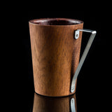 TRIANGO - Designer Real Wood Cup for Coffee, Cappuccino, Americano, Hot Chocolate or Tea - Toccami - 1