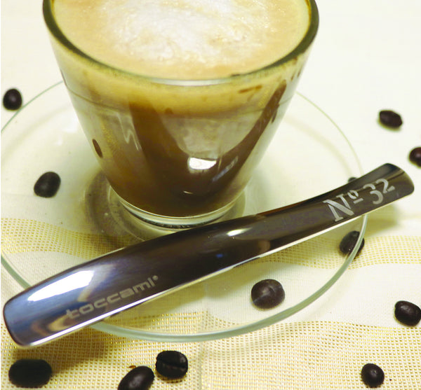 Engraved IMPULSO 150  - Coffee spoons for short coffees - available as a set of 2, 4 or 6 - Toccami - 1