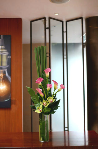 Floral Centrepieces for Hong Kong Science Park at Wheelock Gallery