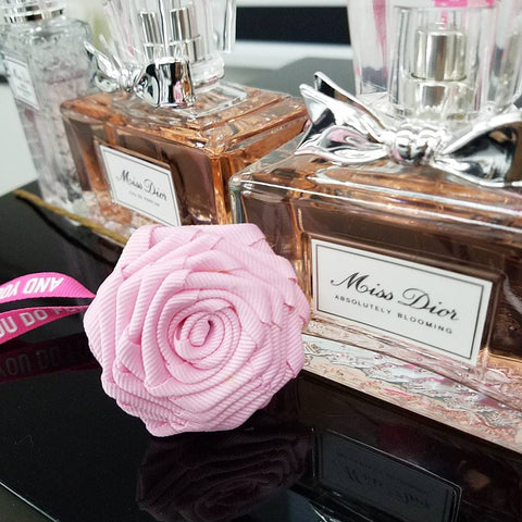 miss dior fragrance ribbon rose workshop by lily sarah