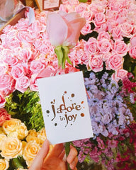 J'adore Dior Pink Roses on Mother's Day