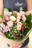Elegant Fresh flower bouquet arrangement Lily Sarah Floral Studio Science Park Shatin | 花束 花店 沙田科學園 送花 情人節禮物