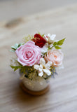 Preserved Flower Arrangement with roses and hydrangea in pink tone | 粉紅系 保鮮花 香港 花店 開張禮物 賀禮 preserved flowers flower shop preserved roses stylish gift
