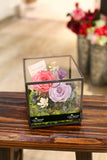 保鮮花 香港 花店 玫瑰 情人節禮物 開張花籃 祝賀禮物 Grand opening gift celebration gift valentines day gift diy gift  preserved flowers flower shop preserved roses hong kong