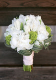 [A10004] A signature bouquet of white tulips