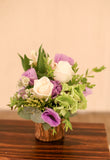 Garden Floral Arrangement | Country style wedding Dinner table centrepiece decoration | Corporate Flowers | Reception Centrepiece | Opening Ceremony Basket Elegant Flower Arrangement Florist Flower Shop Floral Arrangement Hong Kong Science Park 花藝 開張花籃 花店 沙田科學園