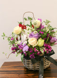 Custom colour flower basket [GBB003]