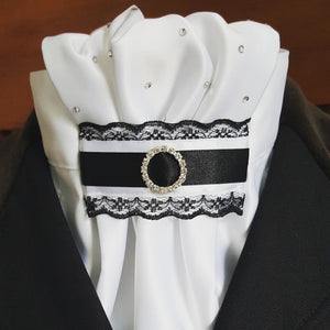 Black and White Euro Style with Lace
