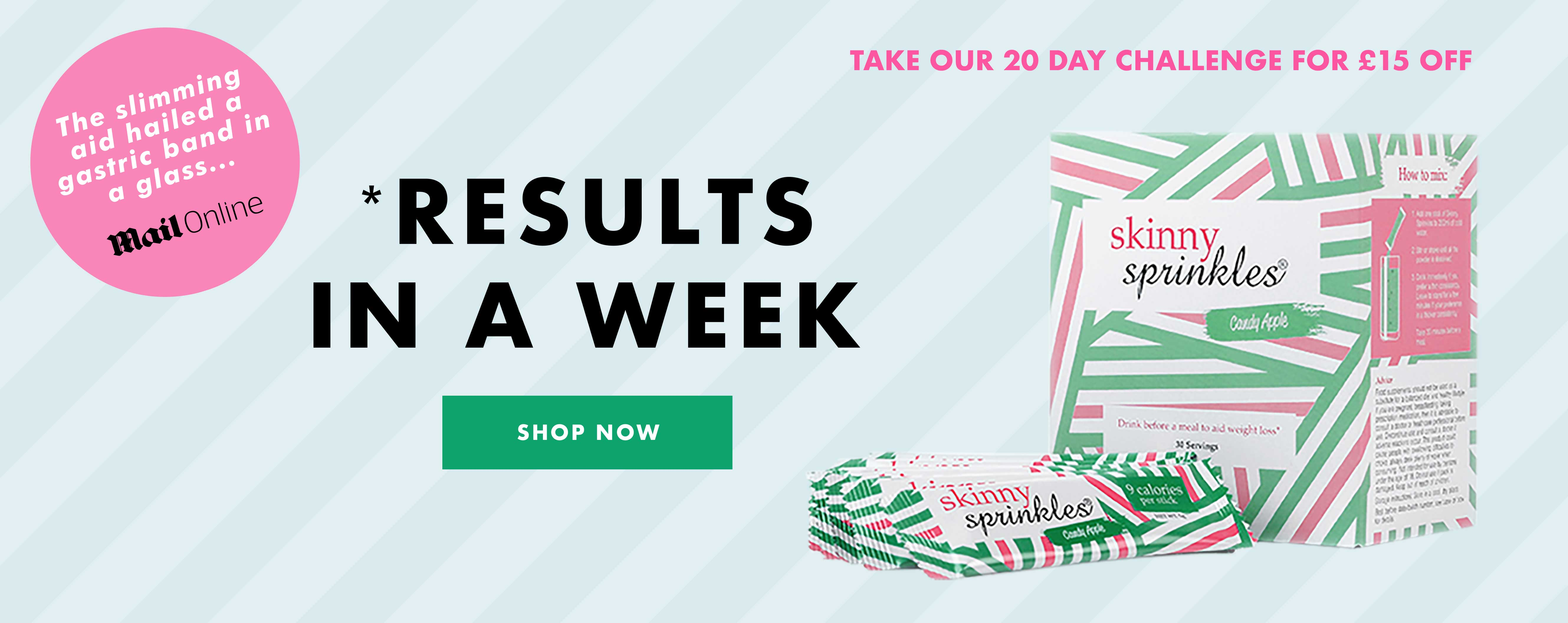 Skinny Sprinkles® Weight Management Drink | The Official Site