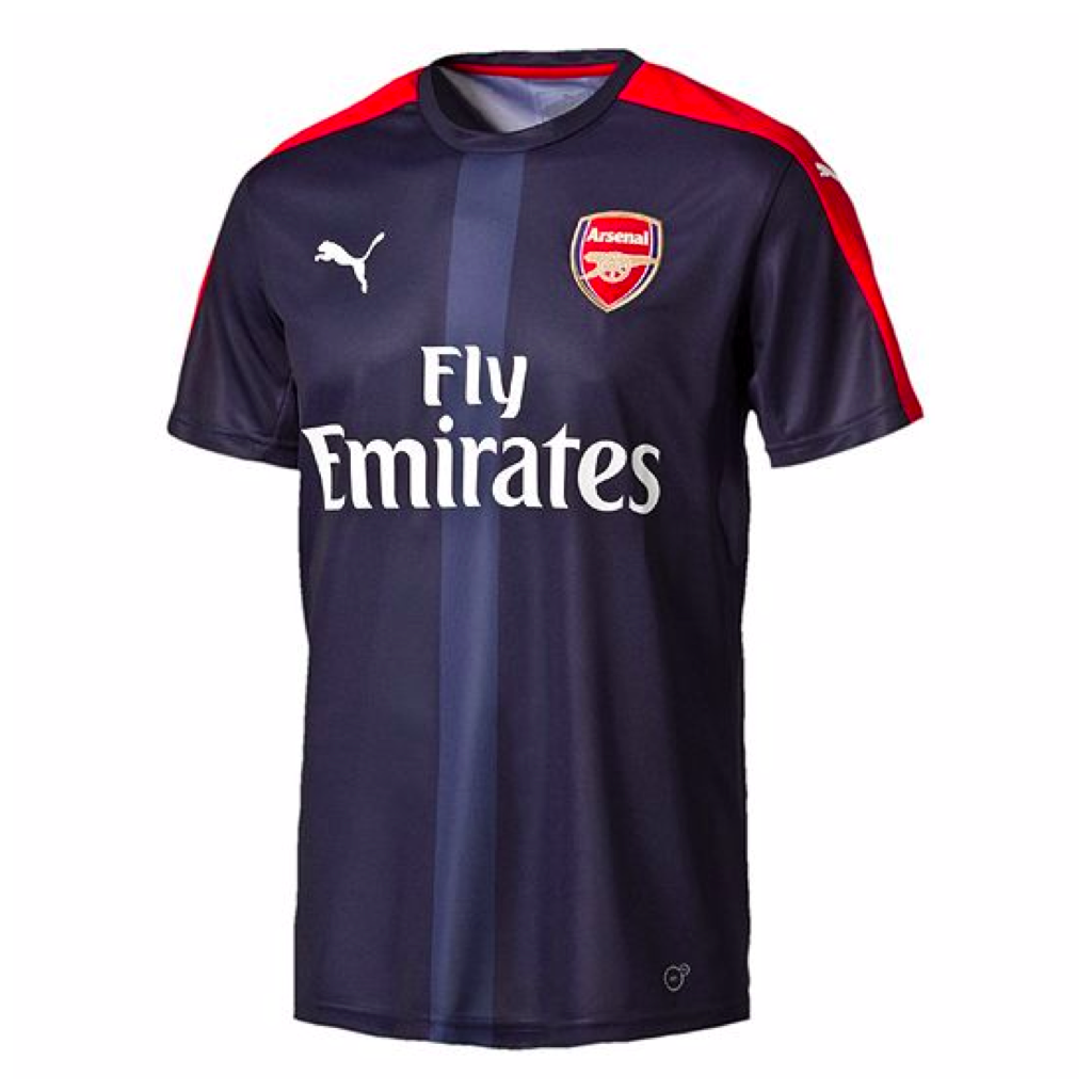 2016/17 ARSENAL FC SS MEN'S PREMIER LEAGUE STADIUM JERSEY