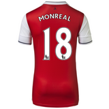 2016/17 ARSENAL FC SS HOME MEN'S REPLICA JERSEY - MONREAL 18