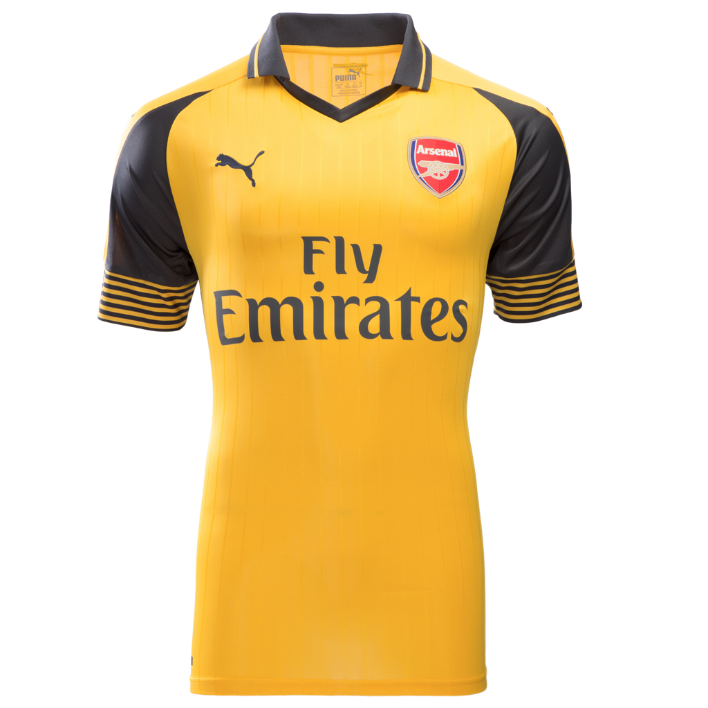 2016/17 ARSENAL FC SS AWAY MEN'S REPLICA JERSEY - XHAKA 29