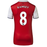 2016/17 ARSENAL FC SS HOME MEN'S REPLICA JERSEY - RAMSEY 8
