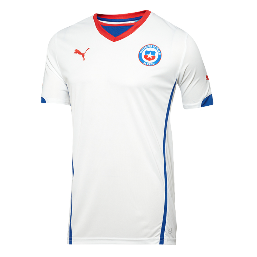 WC2014 CHILE AWAY MEN'S REPLICA JERSEY